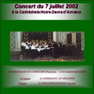 A la cathédrale Notre Dame d'Amiens (2002)