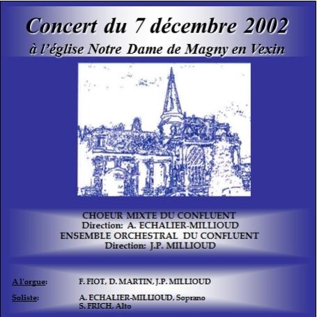 Concert à Notre Dame de Magny en Vexin