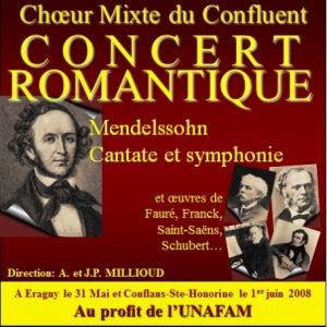 """Concert """"Romantique"""" (2008)"""
