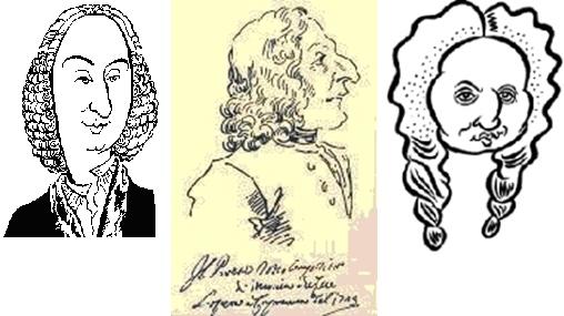 Caricatures de vivaldi