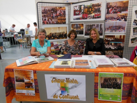 Forum des Associations 2014 à Eragny