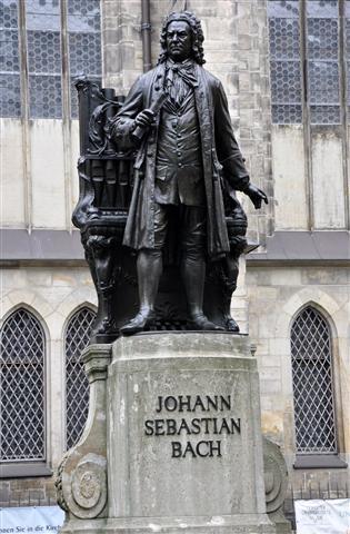 Mémorial Bach à Leipzig