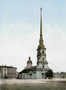 Cathédrale St Pierre et Paul de Saint-Pétersbourg