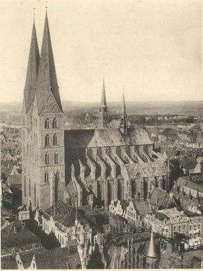 la Marienkirche (église Sainte Marie)