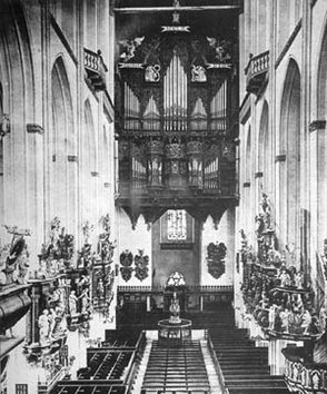 orgue de la Marienkirche