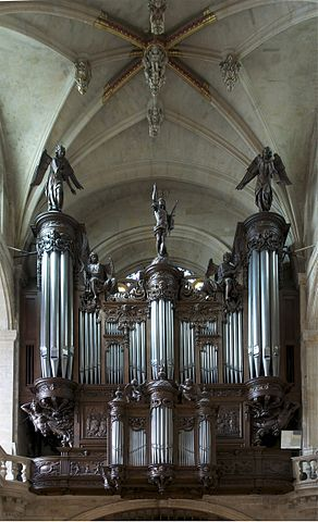 Orgue de l'église Saint-Etienne du Mont à Paris