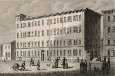 La dernière maison de Mendelssohn à Leipzig