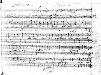 "Manuscrit: ""Les passions de l'âme"""