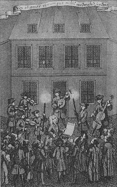 Le Collegium Musicum en 1727