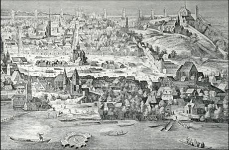 Prague vers 1570
