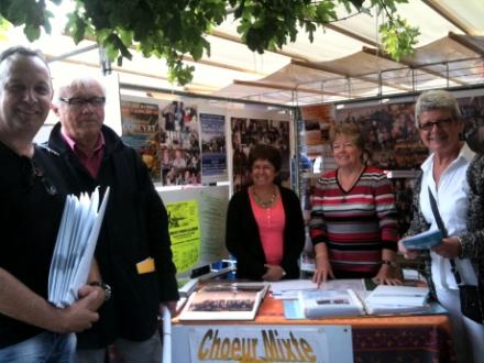Forum des associations 2013 à Eragny